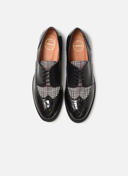 Scarpe con lacci Made by SARENZA Pastel Affair Chaussures à Lacets #4 Nero modello indossato