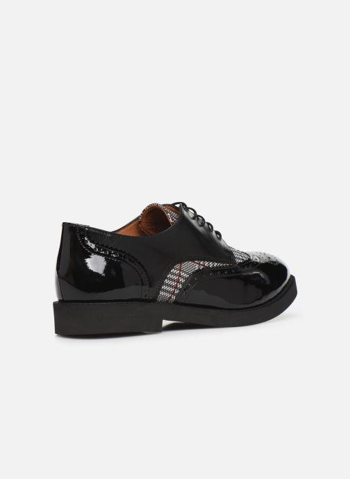Veterschoenen Made by SARENZA Pastel Affair Chaussures à Lacets #4 Zwart voorkant