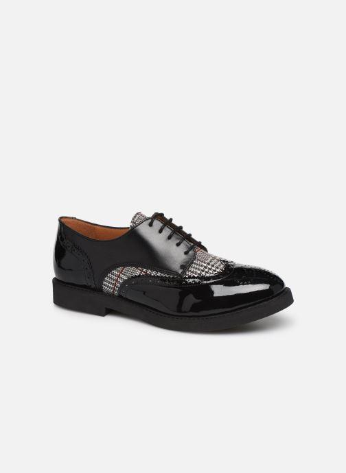 Zapatos con cordones Made by SARENZA Pastel Affair Chaussures à Lacets #4 Negro vista lateral derecha