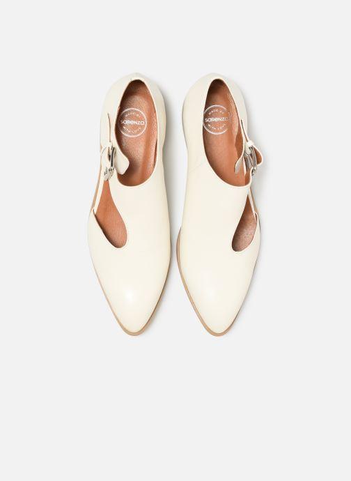 Mocassins Made by SARENZA Summer Folk Souliers #1 Blanc vue portées chaussures