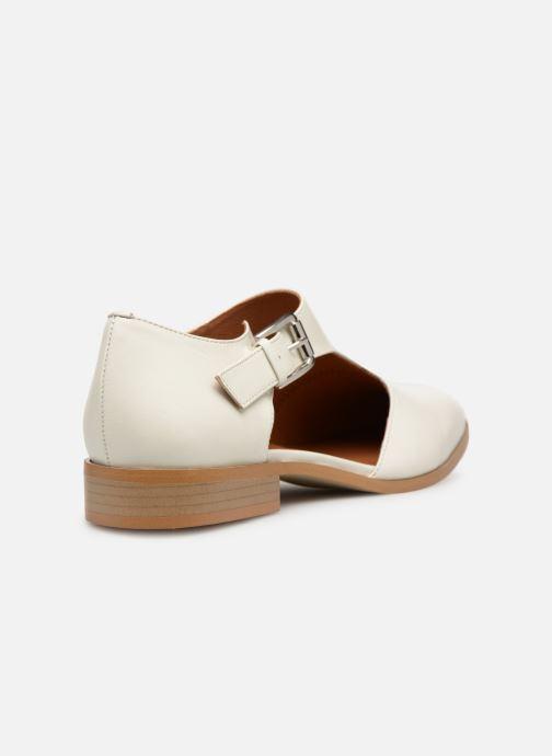 Mocassins Made by SARENZA Pastel Affair Chaussures à Lacets #2 Blanc vue face