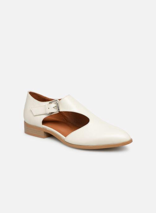Mocassins Made by SARENZA Pastel Affair Chaussures à Lacets #2 Blanc vue droite