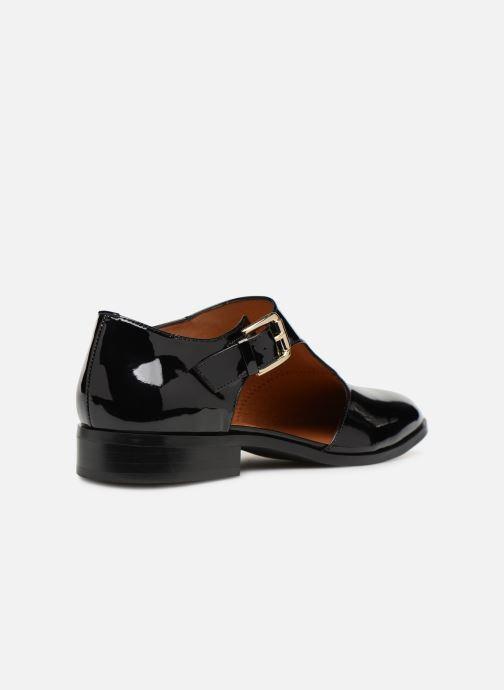 Mocassins Made by SARENZA Pastel Affair Chaussures à Lacets #2 Noir vue face