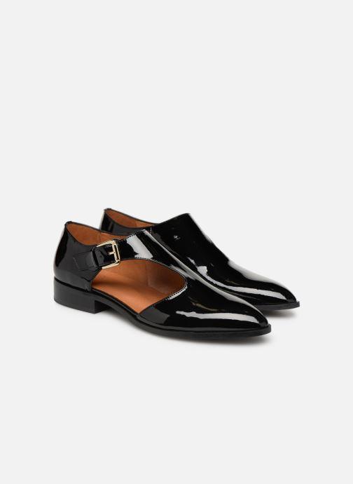 Mocassins Made by SARENZA Pastel Affair Chaussures à Lacets #2 Noir vue derrière