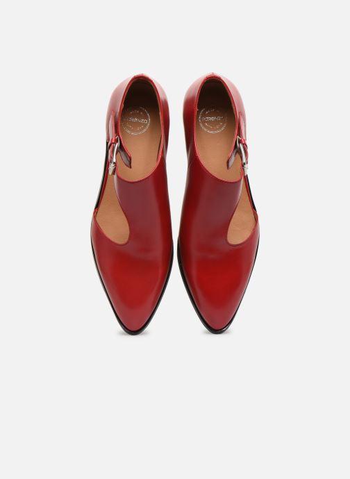Mocassini Made by SARENZA Summer Folk Souliers #1 Rosso modello indossato