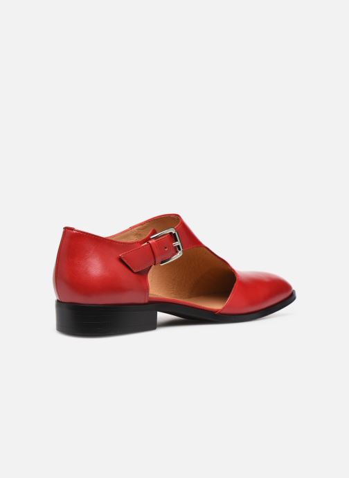 Mocasines Made by SARENZA Summer Folk Souliers #1 Rojo vista de frente