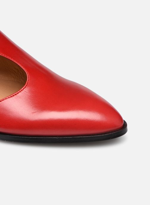 Mocassini Made by SARENZA Summer Folk Souliers #1 Rosso immagine sinistra