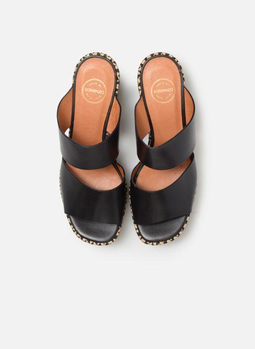 Mules et sabots Made by SARENZA UrbAfrican Mules #3 Noir vue portées chaussures