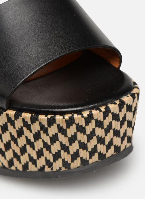 Clogs & Pantoletten Made by SARENZA UrbAfrican Mules #3 schwarz ansicht von links