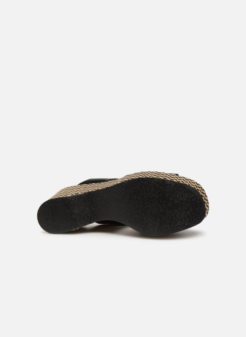 Clogs & Pantoletten Made by SARENZA UrbAfrican Mules #3 schwarz ansicht von oben