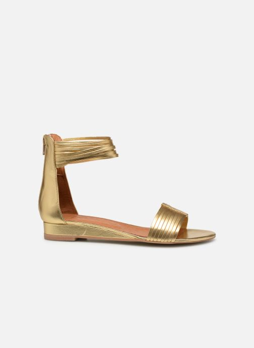 Sandales et nu-pieds Made by SARENZA UrbAfrican Sandales Plates #1 Or et bronze vue détail/paire