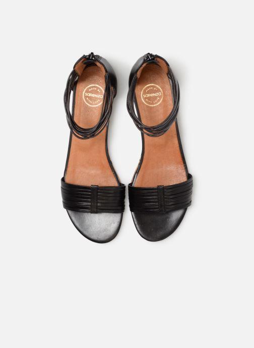Sandales et nu-pieds Made by SARENZA UrbAfrican Sandales Plates #1 Noir vue portées chaussures