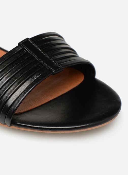 Sandales et nu-pieds Made by SARENZA UrbAfrican Sandales Plates #1 Noir vue gauche