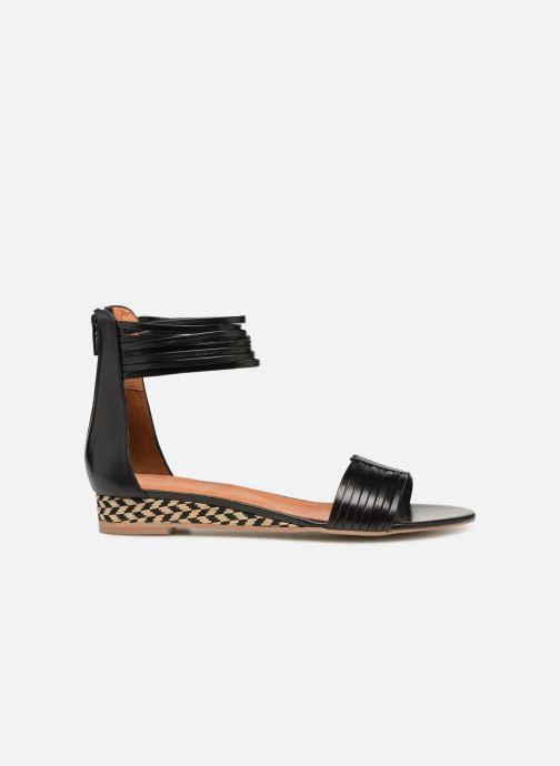Sandales et nu-pieds Made by SARENZA UrbAfrican Sandales Plates #1 Noir vue détail/paire