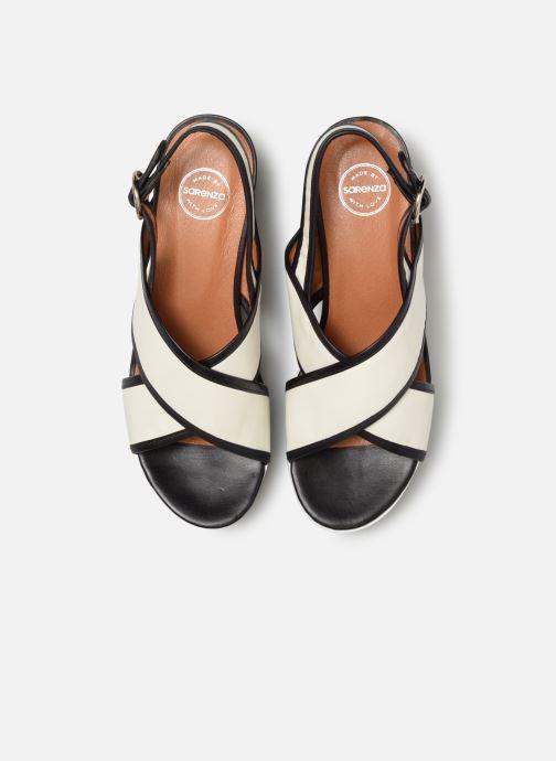 Sandales et nu-pieds Made by SARENZA Sport Party Sandales à Talons #3 Blanc vue portées chaussures