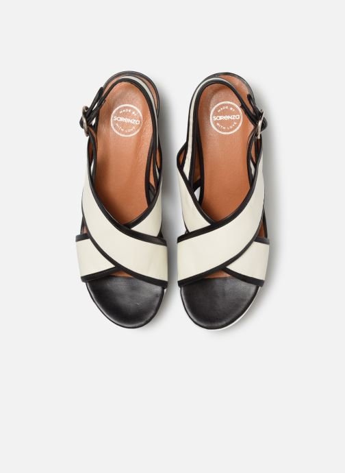 Sandalen Made by SARENZA Sport Party Sandales à Talons #3 weiß schuhe getragen