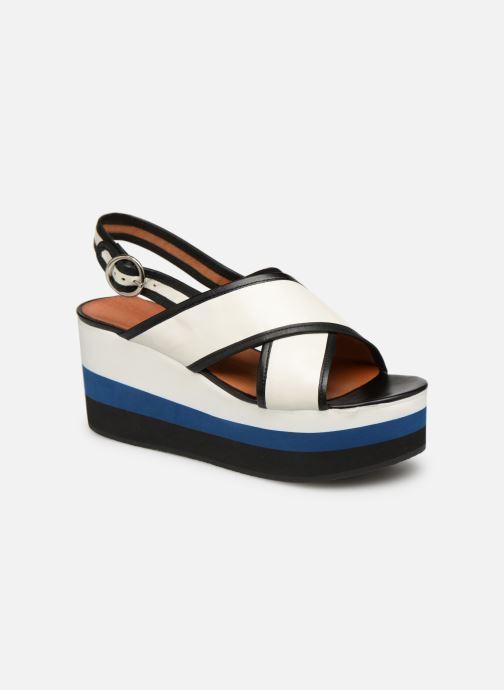 Sandales et nu-pieds Made by SARENZA Sport Party Sandales à Talons #3 Blanc vue droite