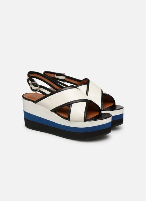 Sandales et nu-pieds Made by SARENZA Sport Party Sandales à Talons #3 Blanc vue derrière