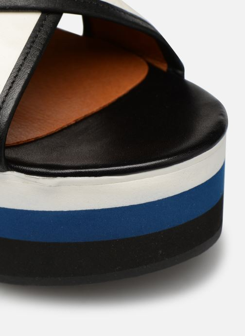 Sandalen Made by SARENZA Sport Party Sandales à Talons #3 weiß ansicht von links