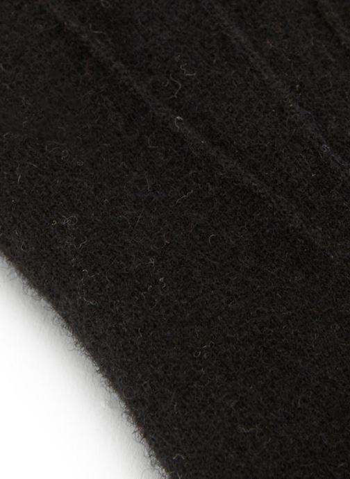 Gants Monoprix Homme GANTS MAILLE TACTIL Noir vue portées chaussures