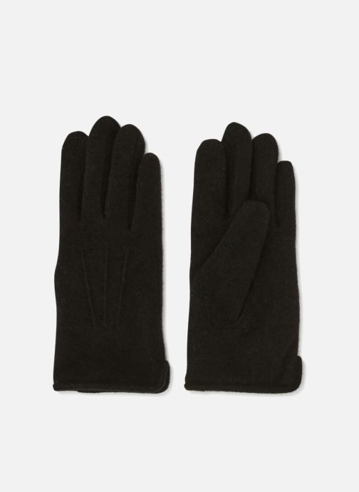 Gants Monoprix Homme GANTS MAILLE TACTIL Noir vue détail/paire