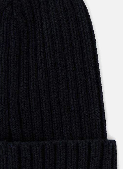 Bonnets Monoprix Homme Bonnet uni Bleu vue portées chaussures