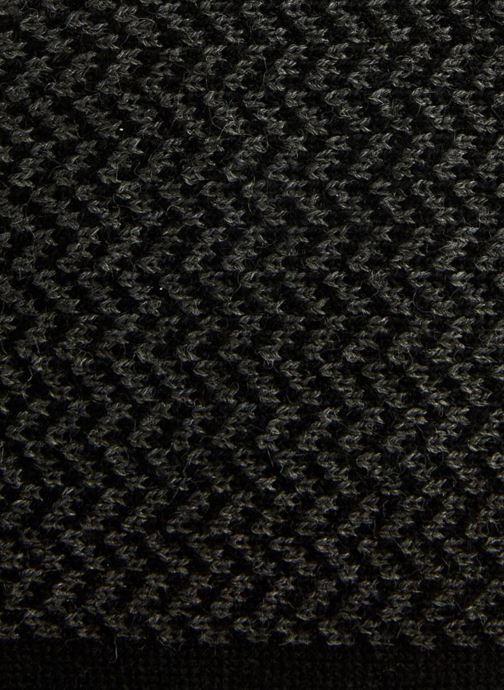 Echarpes et Foulards Monoprix Homme Echarpe chevrons Noir vue portées chaussures