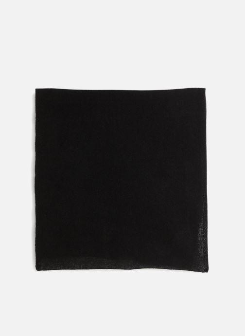 Echarpes et Foulards Monoprix Homme ECHARPE CACHEMIRE Noir vue portées chaussures