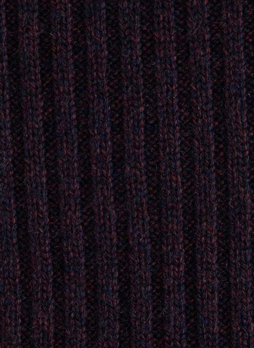 Scarf Monoprix Homme ECHARPE LAINE CACHEMIRE Blue front view