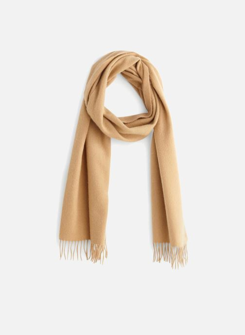 Sciarpa y foulard Monoprix Homme ECHARPE CACHEMIRE FRANGES Beige vedi dettaglio/paio