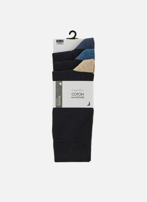 Sokken en panty's Monoprix Homme CHAUSSETTE LOT DE 3 Blauw detail