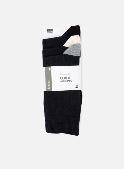 Chaussettes et collants Monoprix Homme CHAUSSETTE LOT DE 3 Bleu vue détail/paire