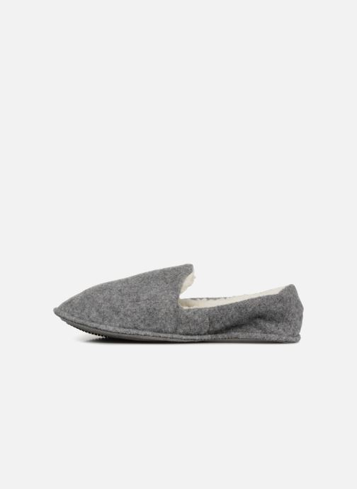 Chaussons Monoprix Homme CHAUSSON Sleepers Gris vue face