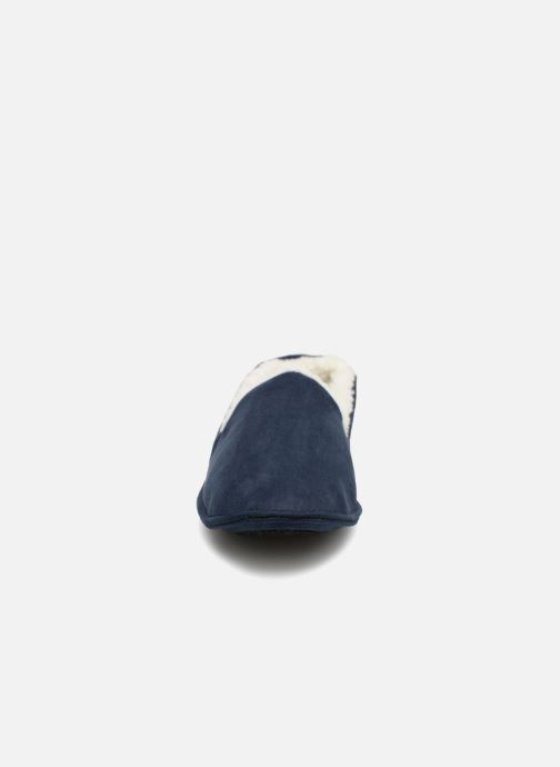 Chaussons Monoprix Homme CHAUSSON SLEEPER CHAUD Bleu vue portées chaussures