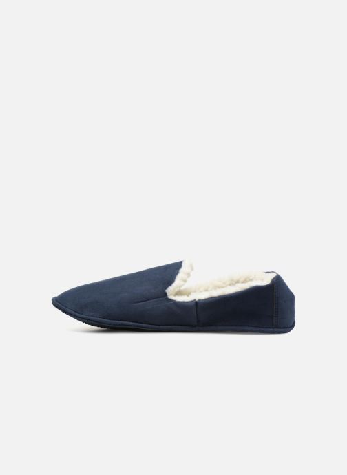 Slippers Monoprix Homme CHAUSSON SLEEPER CHAUD Blue front view