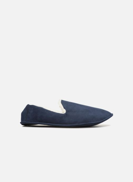 Slippers Monoprix Homme CHAUSSON SLEEPER CHAUD Blue back view
