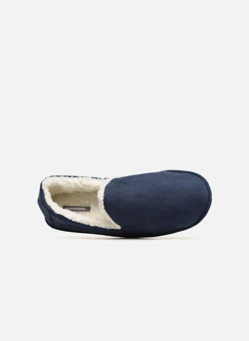 Slippers Monoprix Homme CHAUSSON SLEEPER CHAUD Blue view from the left