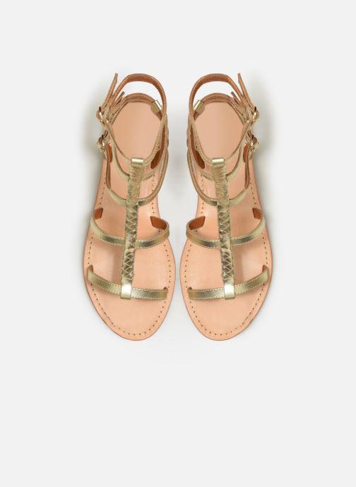 Sandales et nu-pieds Made by SARENZA Africa Vibes Plagettes #2 Or et bronze vue portées chaussures