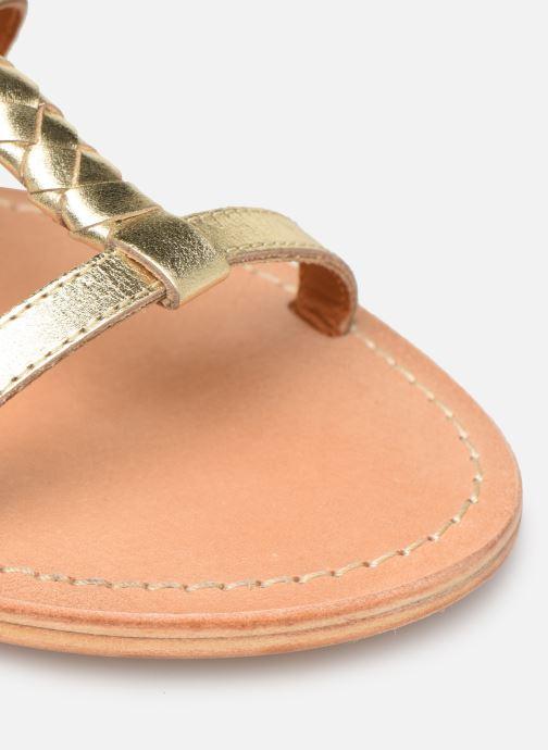 Sandales et nu-pieds Made by SARENZA Africa Vibes Plagettes #2 Or et bronze vue gauche