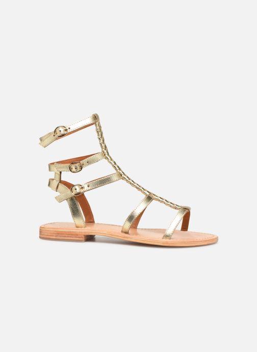 Sandales et nu-pieds Made by SARENZA Africa Vibes Plagettes #2 Or et bronze vue détail/paire