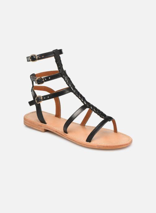 Sandales et nu-pieds Made by SARENZA UrbAfrican Plagettes #1 Noir vue droite
