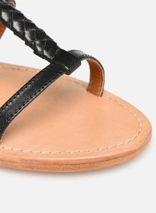 Sandales et nu-pieds Made by SARENZA UrbAfrican Plagettes #1 Noir vue gauche
