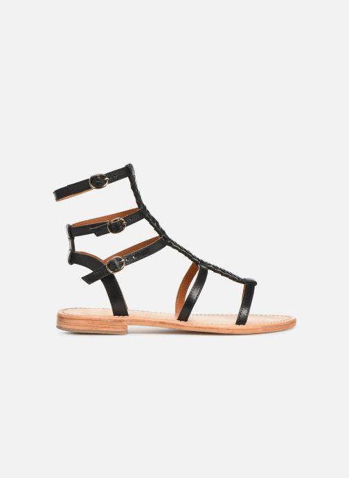 Sandales et nu-pieds Made by SARENZA UrbAfrican Plagettes #1 Noir vue détail/paire
