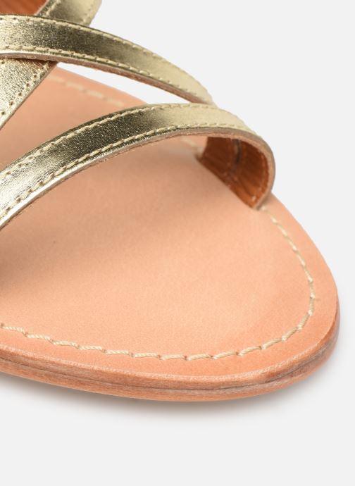 Sandales et nu-pieds Made by SARENZA UrbAfrican Plagettes #2 Or et bronze vue gauche
