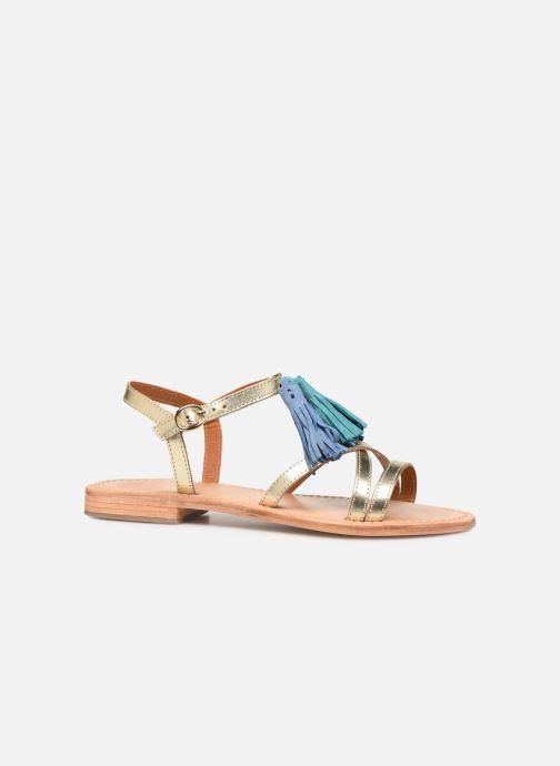 Sandales et nu-pieds Made by SARENZA UrbAfrican Plagettes #2 Or et bronze vue détail/paire