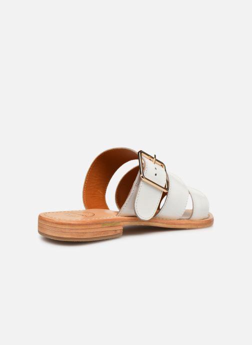 Zuecos Made by SARENZA Pastel Affair Plagettes #1 Blanco vista de frente