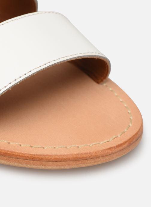 Zuecos Made by SARENZA Pastel Affair Plagettes #1 Blanco vista lateral izquierda