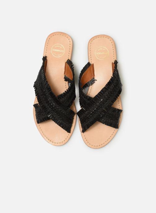 Mules et sabots Made by SARENZA UrbAfrican Plagettes #3 Noir vue portées chaussures