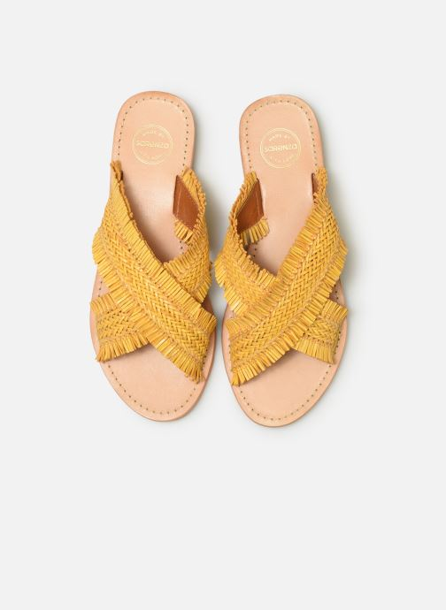 Mules et sabots Made by SARENZA UrbAfrican Plagettes #3 Jaune vue portées chaussures