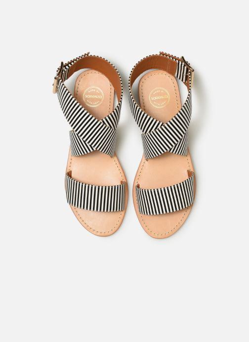Sandalias Made by SARENZA Pastel Affair Plagettes #2 Negro vista del modelo